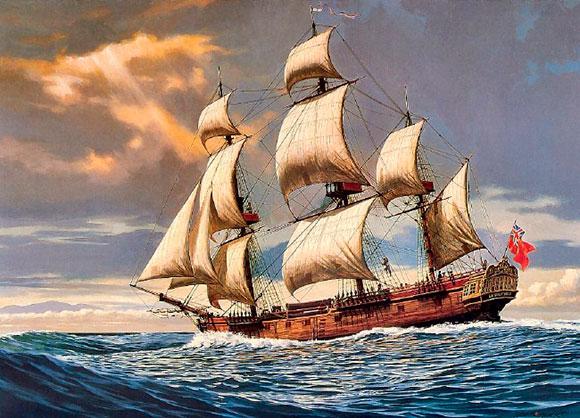 Используя Интернет, подготовьте иллюстрированное описание одного из европейских кораблей эпохи Великих географических открытий.