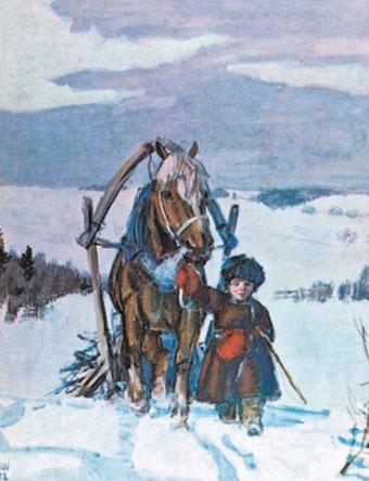 Крестьянские дети Шмаринов