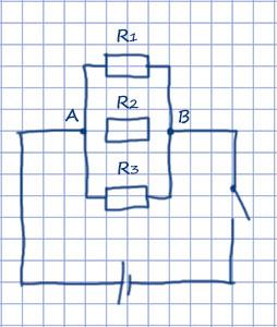 Схема параллельного соединения