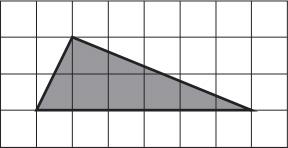 Треугольник на клетчатой бумаге